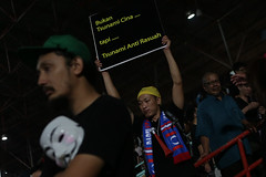 Malaysia's Opposition protests 2013 election results (Khairil Safwan) Tags: people men election asia day south islam chinese police east malaysia kuala polling ibrahim vote malaysian racist voting fraud lumpur malay results safwan anwar khairil 2013 photojurnalist