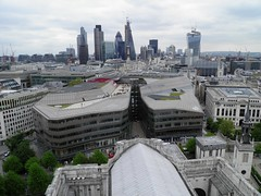 View East from the Gallery on St Paul's Cathedral Dome (Normann) Tags: london stpaulscathedral gherkin