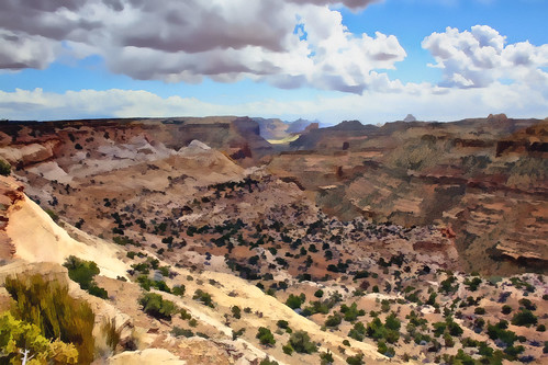 The Little Grand Canyon of the San Rafael Swell, Castle Valley, Emery County, Utah, USA © 2013 Pat Patrick Alan Swigart, Gone to Look for America