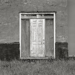 Door, Newberg, Oregon (austin granger) Tags: door film mystery oregon square time geometry decay weathered newberg gf670 austingranger