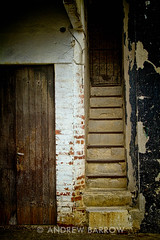 Steps, Mlecnik WInery, Slovenia (wine_scribbler) Tags: door building farm steps winery slovenia novagorica farmyard bukovica rawtrip
