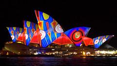 flipper lights (Val in Sydney) Tags: light house festival opera sydney vivid australia nsw soh australie