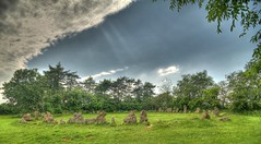 The Kings Men (Nick Stewart2) Tags: oxfordshire hdr neolithic stonecircle thekingsmen longcompton therollrightstones