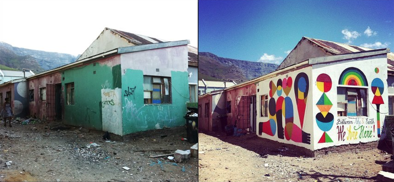 BEFORE & AFTER. woodstock. SA