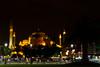 Haghia Sofia-2638 (Lilian Levesque) Tags: travel blue light tourism monument night turkey worship asia europe sofia minaret muslim islam istanbul mosque tourist turquie sight turquia worshiper haghia