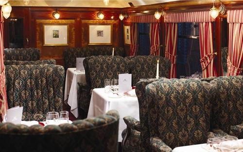 Royal Scotsman train, Scotland