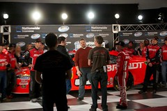 K2PRODUCTIONS behind the scenes for the ESPN/NASCAR spot.