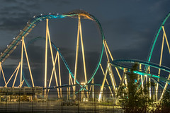 GateKeeper (Dark) (David Morton) Tags: ohio usa canon bm rollercoaster hdr cedarpoint gatekeeper sandusky 3xp photomatix 2013 450d canon450d wingrider cedarfair