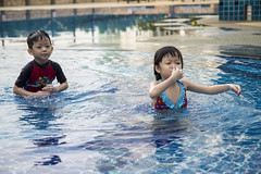 IMG_4435 (Alphone Tea) Tags: family art childhood kids print children fun amazing asia dinosaur outdoor chinese adorable swimmingpool malaysia 1755 60d