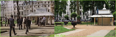 A Nightingale Sang in Berkeley Square`1979-2013`Part 2 (roll the dice) Tags: uk trees green london art history classic westminster actors pinky ghosts local robbery posh scared expensive mayfair seventies filming w1 locations caper oldandnew heist pastandpresent londonist bygone hereandnow