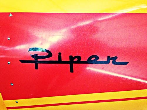Piper Cub Airplane at FCC Berlin
