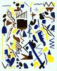 Mutation 116 (Kyle Pellet / Pellet Factory) Tags: california art painting paper artist pattern drawing sanjose bayarea gouache mutation pelletfactory kylepellet empiresevenstudios