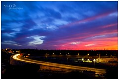 Sunset in Rome (Neott73) Tags: sunset italy rome roma cars nikon italia tramonto bluehour nikkor 2013 d7000