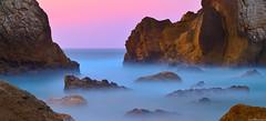 Misterious land (David Martín López) Tags: longexposure seascape beach misty landscape rocks stones playa paisaje rocas cantabria piedras liencres largaexposicion arnia brumosa