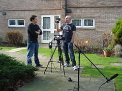"Eric Merola & Pete Cohen - March 2012 - while shooting ""Burzynski: Part II"""