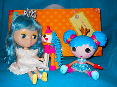 Candy loves her new Lala friends