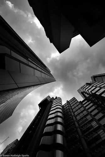 Patterns Of Force - London City Office Life (Lloyds Building & Willis Building)