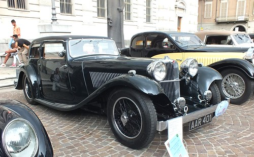 SS1 light Saloon 1935