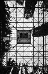 MFO-Park (Arthur Lancereaux) Tags: city shadow blackandwhite nature metal architecture stairs switzerland cityscape steel perspective platform structure zrich grating lowangle postandbeam oerlikon 500d ultrawideangle mfopark maschinenfabrik burckhardtpartner sigma816mmf4556 raderschalllandschaftsarchitektenag
