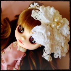 crochet lace head dress,handmade