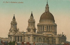 Inglaterra - St. Paul´s Cathedral, London (tico_manudo) Tags: london england vintagepostcards tarjetaspostalesvintage stpaul´scathedrallondon valentine´sseriespostcards