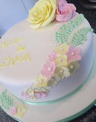 Pastel Rose Cake