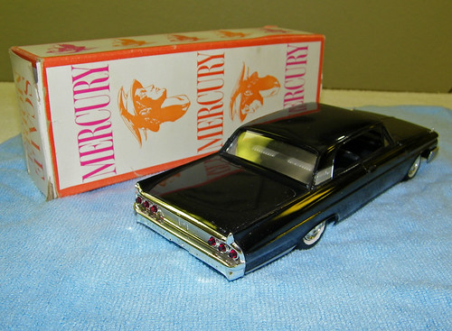 1961 Merucry Monterey 2 Door Hardtop Promo Model Car  -  Black