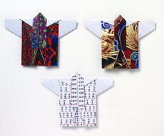 Origami création - Didier Boursin - Kimono