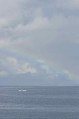 Rainbow, Ampana (naonishimiya) Tags: sea indonesia boat rainbow laut sulawesi perahu celebes pelangi centralsulawesi ampana sulawesitengah sulteng