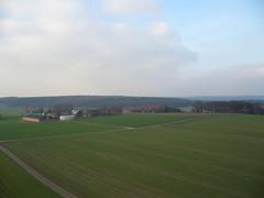AussichtsturmDuersbergSonsbeck_BlickRichtungTueschenwald_22Jan2014