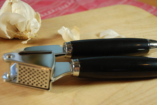 "Stainless Steel Garlic Press - Kitchen Gadgets by Cuina Kitchen <a style=""margin-left:10px; font-size:0.8em;"" href=""http://www.flickr.com/photos/115365437@N08/12108429793/"" target=""_blank"">@flickr</a>"