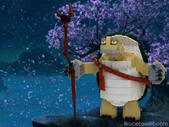 LEGO Master Oogway (bruceywan) Tags: movie panda lego turtle cartoon tortoise master kungfu kung fu commission photostream moc 2014 commissions oogway brucelowellcom