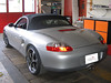 Porsche Boxster Glasscheibenumrüstung