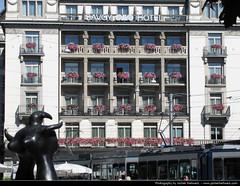 Savoy Hotel, Paradeplatz, Zurich (JH_1982) Tags: hotel schweiz switzerland suisse suiza zurich suíça zurique zürich helvetia svizzera savoy züri 瑞士 zwitserland zurigo paradeplatz svizra 스위스 苏黎世 szwajcaria スイス チューリッヒ turitg zurych schweizerische eidgenossenschaft zúrich швейцария 취리히 цюрих ज़्यूरिख़ स्विट्ज़रलैण्ड