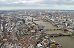 London from above (prahatravel) Tags: from above city england london thames buildings river tall shard overview