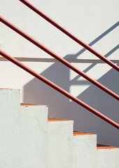 'In relation to and as a function of ... ' (Canadapt) Tags: shadow portugal wall stairs geometry line diagonal staircase handrail banister costanova canadapt