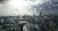 London in rain (weatherfanvirgo) Tags: london eye water rain weather st modern tate pauls raindrop 2014 ferbruary