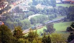 Damn that Tree! (fgrsimon) Tags: goldenvalley stroud britishrail class47 brblue