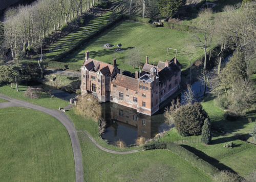Gedding Hall aerial