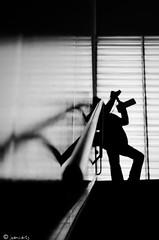 Contraluz en el auditorio (juancarts) Tags: people bw espaa blancoynegro contraluz la spain nikon gente weekend silhouettes bn murcia contraste nikkor cartagena siluetas maraton contrastes sbado findesemana verdad contrastada laverdad nikond5100