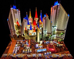 Castle Excalibur in Vegas
