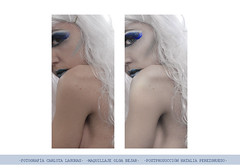 (NPG.) Tags: blue white cold ice girl azul photoshop nude chica makeup fantasy fantasia fotografia frio hielo mua desnudo maquillaje postproduccion