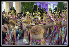 Ballet Kebanna. Desfile Carnaval Cartagena 2014 (jarm - Cartagena) Tags: ballet espaa spain fiestas desfile carnaval espagne cartagena sanpedrodelpinatar 2014 regindemurcia jarm kebanna