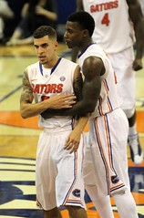 Scottie Wilbekin & Casey Prather Great Execution (dbadair) Tags: basketball war university eagle florida gators auburn tigers sec uf 2014