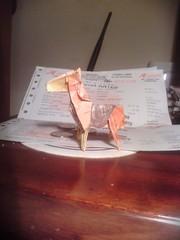 Inflacin desbocada. (Jaycer17) Tags: horse paper caballo bill origami papel papiroflexia