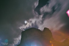 Noite (Mateus ml - Wetah) Tags: light mountain night stars noite luzes morro