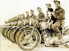 "Kiwis in the desert with Matchless G3s • <a style=""font-size:0.8em;"" href=""http://www.flickr.com/photos/81723459@N04/14004725650/"" target=""_blank"">View on Flickr</a>"