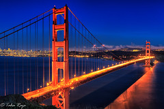 GG SHadow at Night Golden Gaate Recreation Area, San Francisco, CA - XR6A5766-Edit-Edit (taharaja) Tags: sanfrancisco california marin goldengate vistapoint headland goldengaterecreationarea