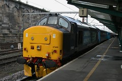 37405 (highlandreiver) Tags: station train diesel citadel engine rail class special cumbria 37 carlisle services direct charter drs 37405