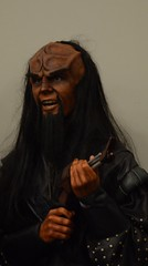 Costume Contest (Adventurer Dustin Holmes) Tags: startrek cosplay klingon 2014 costumecontest startrekcosplay trekcon trekconspringfield